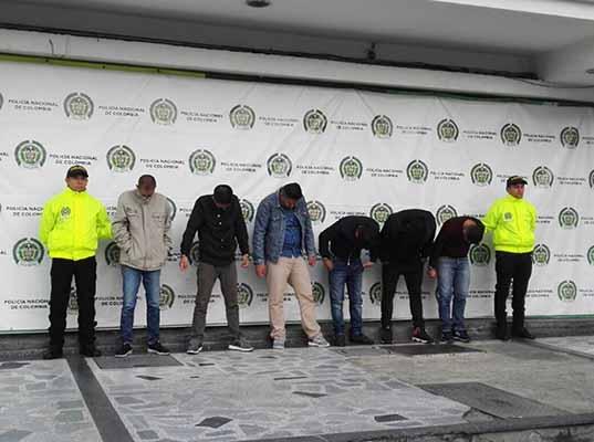 Cayó la banda de 'los taquilleros' en Bogotá