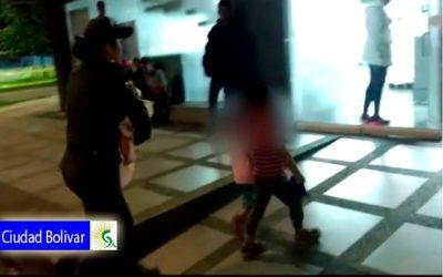 Rescatados tres niños en condición de abandono en la localidad de Ciudad Bolívar