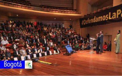 Bogotá reafirma su compromiso por ser territorio de paz