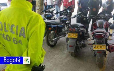 Continúan labores de registro y control a motociclistas por parte de la Policía