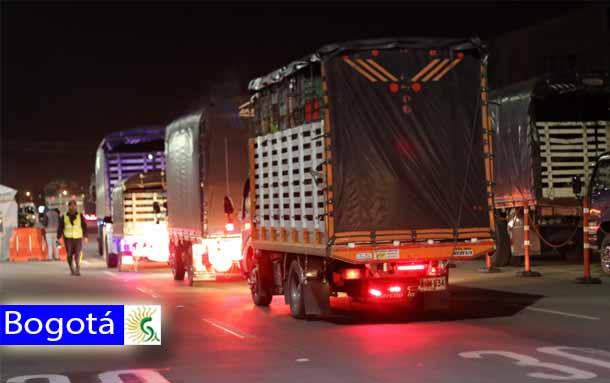 Conozca las restricciones de movilidad para vehículos de carga en Bogotá