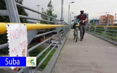Aumenta la inseguridad en puentes peatonales en límites de Suba y Usaquén: 10 víctimas de hurto al día