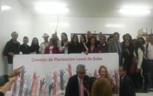 CPL: Instalado consejo local de planeación local en suba