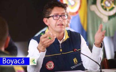 """""""Mantenemos las medidas adoptadas"""": Gobernador de Boyacá Ramiro Barragán Adame"""