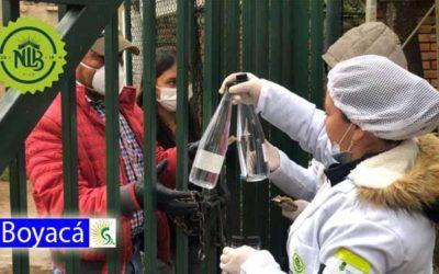 Por escasez y especulación Licorera de Boyacá distribuye alcohol para antibacteriales