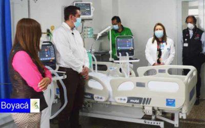 Abren cuatro unidades de cuidados intensivos en el Hospital Regional de Duitama