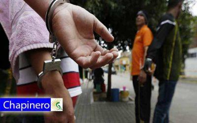 En flagrancia cayó una banda delincuencial, dedicada al hurto a comercio en Chapinero