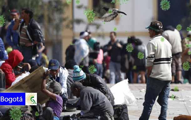 Brote de coronavirus se confirma en habitantes de calle de Bogotá