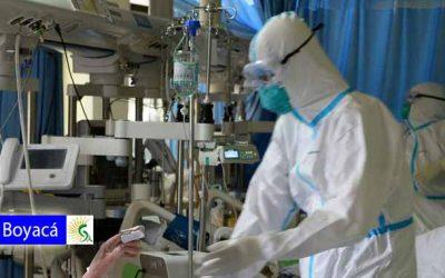 Se confirman cuatro nuevos casos de COVID-19 en Boyacá, entre ellos un fallecido