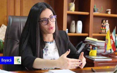 Carolina Espitia Jerez llega para liderar las acciones contra el COVID–19 en Boyacá