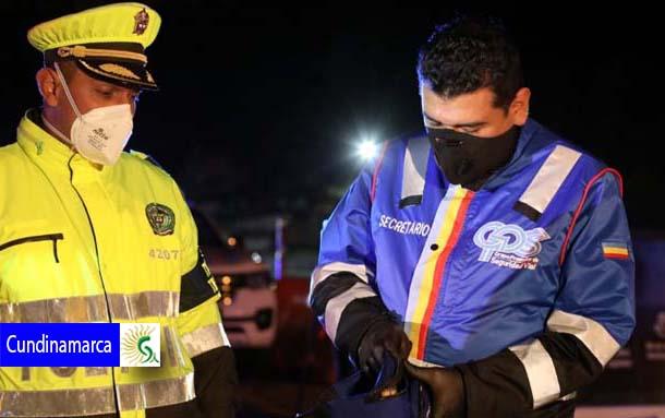 En Cundinamarca inició fuerte estrategia de control durante toque de queda