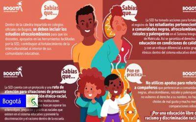 Conozca cómo avanza la Cátedra de Estudios Afrocolombianos en Bogotá