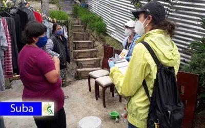 En Suba se realizó prueba piloto de prevención de violencia intrafamiliar