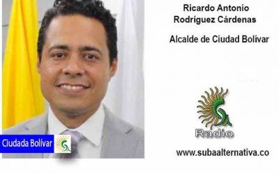 El alcalde local de Ciudad Bolívar reactiva obras detenidas por el Covid-19 en la localidad