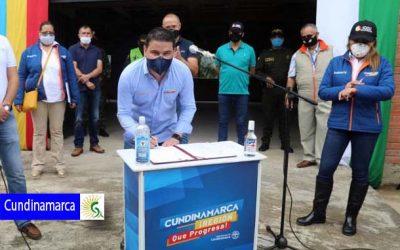 Más de $3.224 millones para infraestructura en San Juan de Rioseco, Mosquera y Funza en Cundinamarca