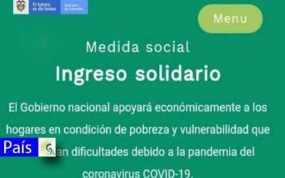 Atención: Ingreso solidario se extiente hasta el mes de diciembre