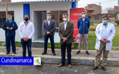 Soacha inaugura moderna unidad de triage para posibles casos de Covid – 19