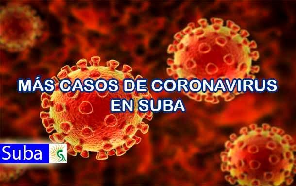 ¡Ojo! Este Domingo Suba supera los 2.540 infectados por covid-19; van más 50 muertes
