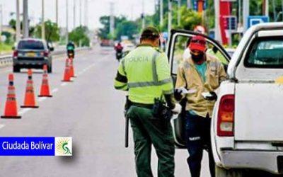 Refuerzan controles durante este puente festivo contra la propagación del virus en Ciudad Bolívar