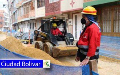 Alcalde local de Ciudad Bolívar, Ricardo Rodríguez Cárdenas reactiva obras viales este 16 de junio