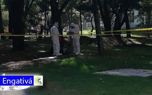 Hallan sin vida a un jovén de 20 años en un parque del barrio San Marcos en la localidad de Engativá