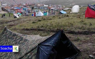 Por lo menos 200 familias invadieron un lote en Ciudadela Sucre Soacha