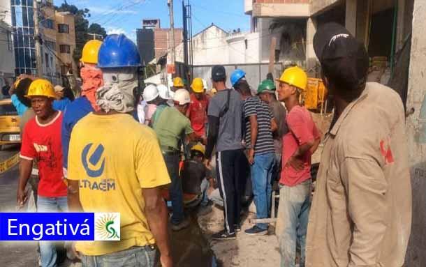 Murió un obrero que cayó de un cuarto piso en el barrio Clarita de la localidad de Engativá