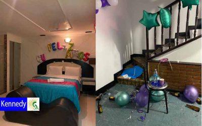 !Se les arruinó la fiesta¡ autoridades descubrieron a 18 personas en un motel en Bogotá