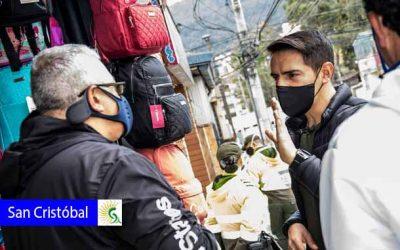 Alcaldía Local de San Cristóbal reforzará medidas durante la cuarentena estricta
