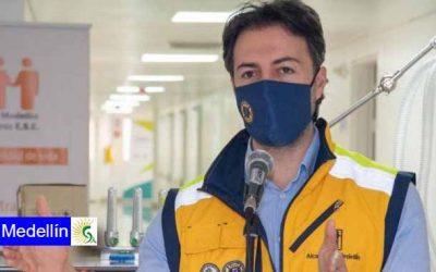 Daniel Quintero, alcalde de Medellín, dio positivo para coronavirus