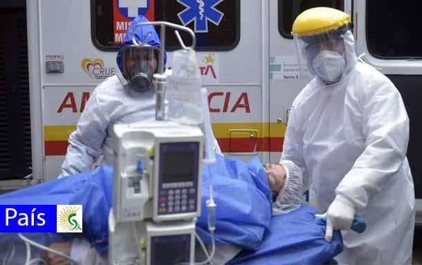 Elevada la cifra de fallecidos por coronavirus este miércoles en Colombia