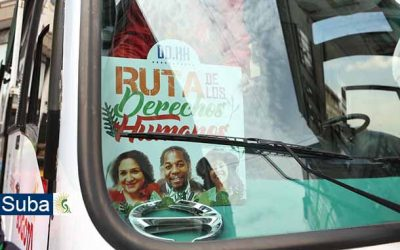 Ruta de los Derechos Humanos llegó a la localidad de Suba