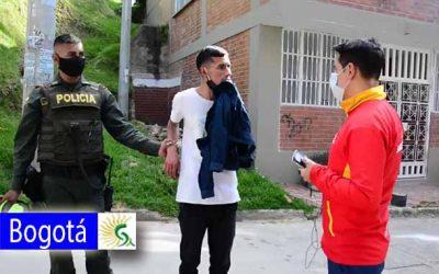 El alcalde de San Cristóbal acudió para detener un robo