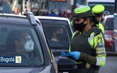 Agentes civiles de Bogotá regularán la circulación vial