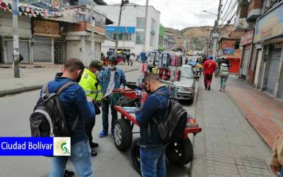 Positivo balance en la primera semana de la Nueva Realidad en la localidad de Ciudad Bolívar