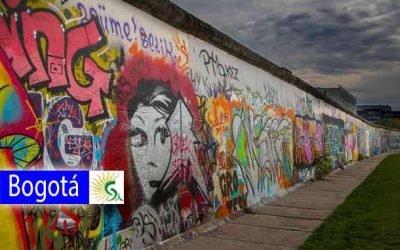 Muro de Bogotá como espacio de arte