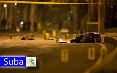 Brutal asesinato en Suba