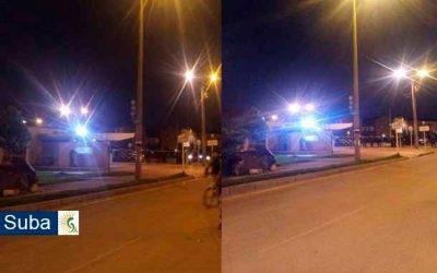 Última Hora: Disturbios en el CAI de Fontanar Río y Gaitana en la localidad de Suba