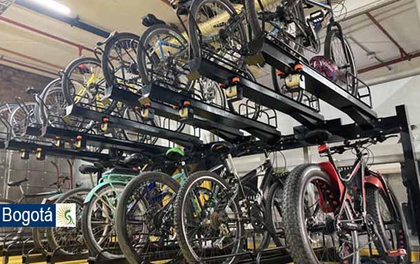 Bogotá estrena 334 cupos de cicloparqueaderos certificados con Sello Calidad Oro en el CAD