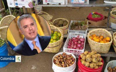 Productores agrícolas piden al presidente Duque ayuda para salir de la crisis