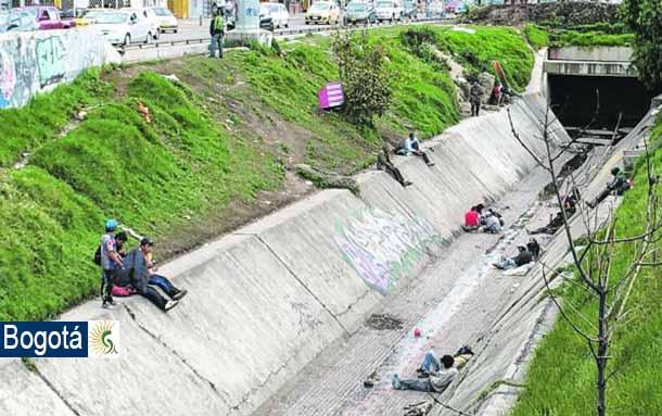 En el centro de Bogotá 24 nuevos cambuches fueron desmantelados