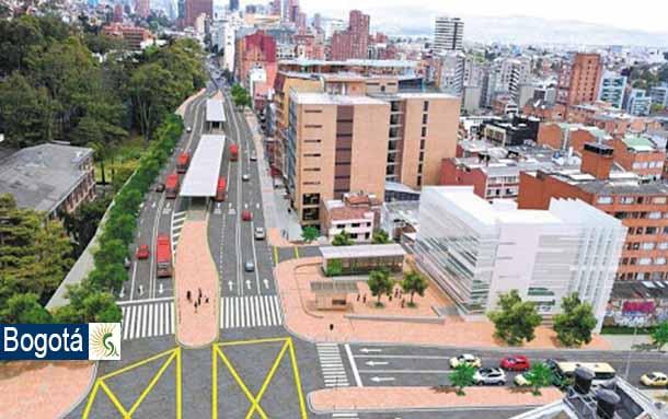 Ciudadanos han participado en la construcción colectiva del Corredor Verde de la carrera Séptima