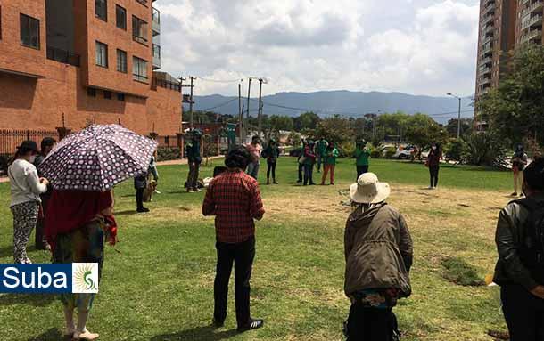 El jardín botánico de Bogotá continúa realizando jornadas de Replantando Confianza