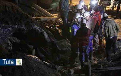 Municipio de Tuta, Boyacá se adelanta operativo de rescate de tres mineros atrapados en una mina de carbón