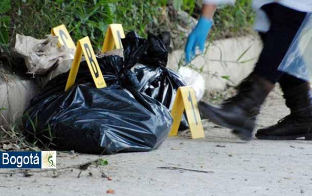 Hombre descuartizado es encontrado en una bolsa de basura por un habitante de calle