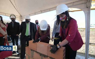 Con un acto simbólico inició oficialmente el proyecto de infraestructura educativa en el predio Plaza Logística