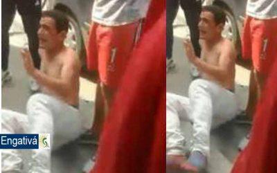 Ladrón es golpeado y desnudado por atracar en la localidad de Engativá