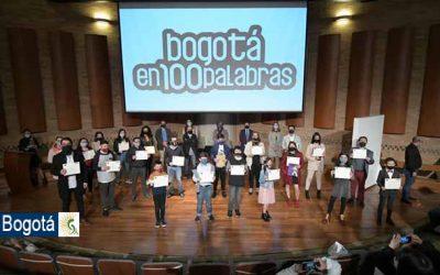 Este jueves 10 de diciembre se conocieron los ganadores del concurso de relato breve 'Bogotá en 100 palabras'