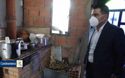 484 familias de la vereda la Chauta, en Madrid, cambian su vida gracias al gas domiciliario