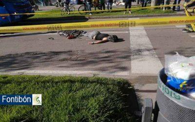 Última Hora: Murió ciclista tras ser arrollado por un tractocamión en la localidad de Fontibón